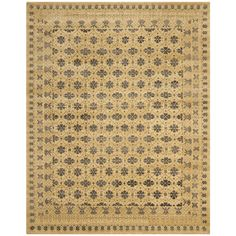 Safavieh Hand-knotted Marrakech Ivory/ Blue Rug