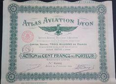Atlas aviation Lyon - 1918