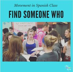 10 Ways to Get your Spanish Class Moving Now that I have a deskless classroom there is so much room for activities! I have seen so many...