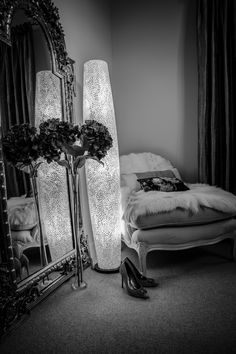 Romantic ambiance lighting by Collectiviste. Home Lighting, Floor Lamp, Pearl, Romantic, Bed, Unique, Photography, Furniture, Home Decor