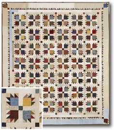 """Love of Quilting Magazine Scrap Contest """"Scrap I Couldn't Bear to Throw"""" -- Submitted by Gina Thackara, Kingston, PA"""