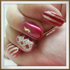Early Christmas Jingle Bell Rock | chichicho~ nail art addicts
