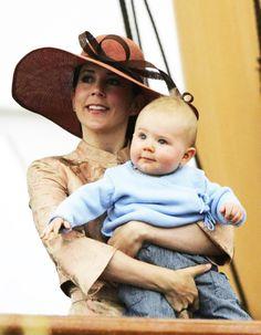 royalwatcher:  Crown Princess Mary and baby Prince Christian