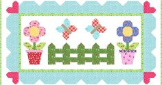 How about we start out this party with a few new ideas for using the Back Porch Blooms block. To make this even more fun I'm going to let . Cute Quilts, Lap Quilts, Small Quilts, Mini Quilts, Quilt Blocks, Hexagon Quilt, Square Quilt, Nancy Zieman, Flower Quilts