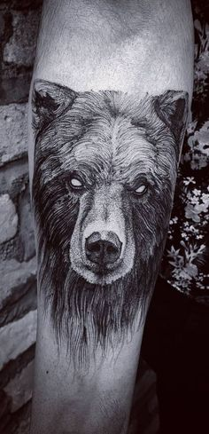Black Bear Tattoo