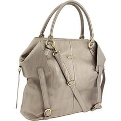 Timi & Leslie Charlie II Diaper Bag in Light Brown! Yes, this fabulous thing is actually a diaper bag! Cute Diaper Bags, Mom Pants, Getting Ready For Baby, Timi Leslie, Grey Leather, Baby Gear, Laptop Bag, Future Baby, Baby Love