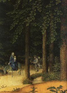 David,Gerard.Rest on the flight into Egypt.c.1510