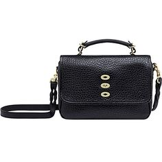 MULBERRY Bryn shiny-grain satchel - 3 hole fastening