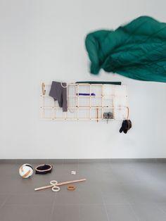 """Collection """"Objets mouvants, grille vestiaire"""" 2019 / Design Cédric Canaud."""
