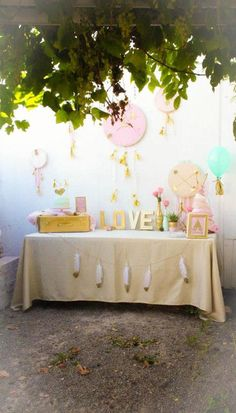 Bohemian Bridal + Baby Shower