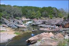 Geology Rocks presentation at Inks Lake State Park: http://www.tpwd.state.tx.us/calendar/geology-rocks-6 (note, photo from unrelated site - just to show park)
