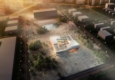 Holm Architecture Office + AI - DQZ Cultural Center Proposal / http://www.holmarchitectureoffice.com/