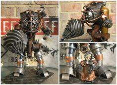 Bioshock Big Daddy And Little Sister by ~geargoylemetalart on deviantART