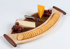 Maple Cheese & Cracker Board