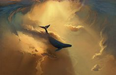 somehow I love flying whales . . .