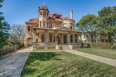 The property 425 King William, San Antonio, TX 78204 is currently not for sale on Zillow. Beautiful Architecture, Beautiful Buildings, Beautiful Homes, Contemporary Architecture, Old Mansions, Second Empire, Sustainable Architecture, Pavilion Architecture, Residential Architecture
