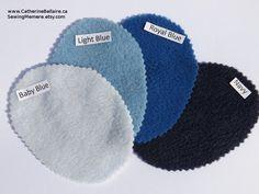 quality polar fleece color sample