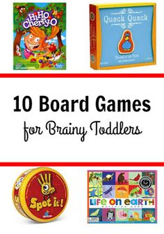 Best board games fro toddlers
