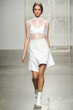 New York Fashion Week, SS '14, Tess Giberson