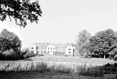 Tolksdorf Kr. Rastenburg,  Herrenhaus - Gartenseite