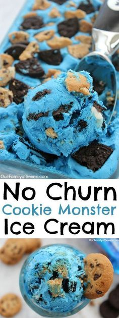 No Churn Cookie Mons