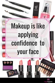 Makeup is like applying confidence to your face. High quality makeup can make you look and feel amazing! Click the picture to start shopping and finding some products that you will adore!