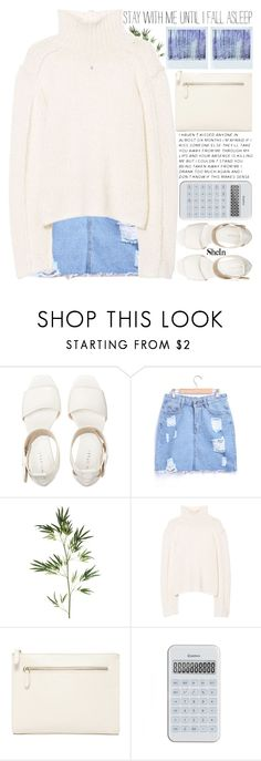 """don't let society decide who you are"" by alienbabs ❤ liked on Polyvore featuring Pier 1 Imports, Marni, Forever 21, Polaroid, clean, organized and shein"