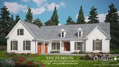 The Pearson House Plan 97188 by Garrell Associates, Inc. 1-877-215-1455. Design by Michael William Garrell. http://garrellassociates.com/floorplans/pearson-house-plan