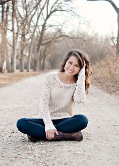 Jennifer (Marcus High School Senior) --- I love the winter look! This is seriously so cute..