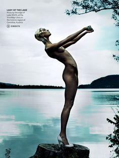destination detox: karlie kloss by mario testino for us vogue july 2013   visual optimism; fashion editorials, shows, campaigns & more!