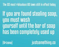 dumb laws US, arizona