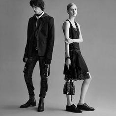 Fashion Copious - Julia Nobis & Reuben Ramacher for Diesel Black Gold FW 15.16 Campaign by Karim Sadli