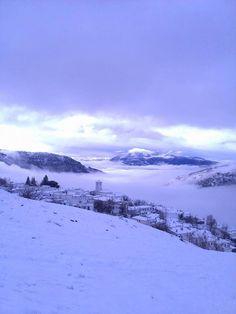 Capileira entre la nieve, Alpujarras  Granada  Spain