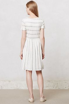 Bateau Linen Dress #Anthropologie