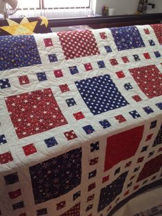 Just one of the Quilt of Valor that The Quilters Touch has quilted for the program