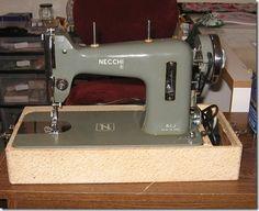 "Necchi BCJ - a fan of vintage sewing machines has a blog entry about the Necchi, her ""Italian Boyfriend"", she calls it! http://studioadventures-susan.blogspot.com/2012/03/my-italian-boyfriend.html"
