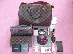 what's in my lv bag - Google Search