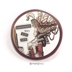 Items similar to 3 inch Pocket Mirror: Remember Who You Are on Etsy Counter Display, Remember Who You Are, My Pocket, I Shop, Personalized Items, Mirror, Etsy, Mirrors, Vanity