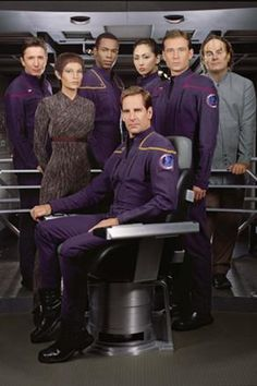 Star Trek: Enterprise (originally titled Enterprise for the first two seasons) is a science fiction TV series and a prequel to the original Star Trek. The series premiered September 26, 2001, on the UPN television network with the final episode airing on May 13, 2005.