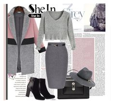 """""""SheIn Contest"""" by tihana1 ❤ liked on Polyvore featuring Balenciaga, Jigsaw and Bebe"""