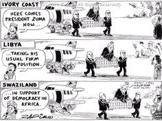 - President Jacob Zuma - the fence sitting mediator in Africa