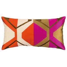 Trina Turk La Playa Embroidered Pillow
