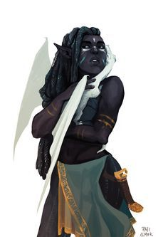 """paticmak: """" Another elf with a tiny dragon cause that's how I roll."""" Follow <a href=""""/melaninprincess/"""" title=""""Peyton Bean"""">@Peyton Bean</a>"""