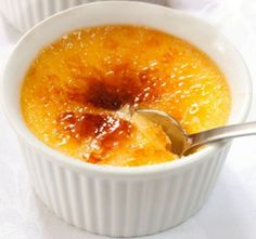 This Baked Honey Custard is the perfect single serve dessert, but can also be converted into a bigger recipe for the whole family.