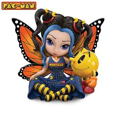 I want this Jasmine Becket-Griffith  figurine so bad!! Pac-man