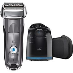 Braun Series 7 Electric Razor for Men, Rechargeable and Cordless Electric Shaver, Foil Shaver, Silver, with Clean&Charge Station and Travel Case Best Electric Razor, Best Electric Shaver, Electric Razors, Shaving Razor, Wet Shaving, Best Shavers, Braun Shaver, Foil Shaver, Shaving & Grooming