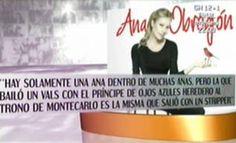 Ana Obregón se confiesa en su libro autobiográfico 27.05.12  http://www.telecinco.es/quetiempotanfeliz/Ana-Obregon-confiesa-libro-autobiografico_3_1621667852.html