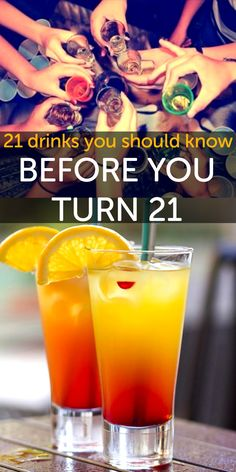 21 drinks and how to recipes you should know before you turn 21