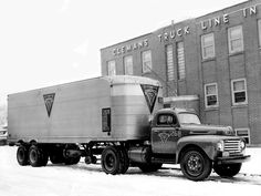 Ford F-8 1948, Clemans Truck Line Inc.