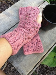 Fingerless Alpaca Gloves Fingerless Mitts Arm by AlpacaMeadows